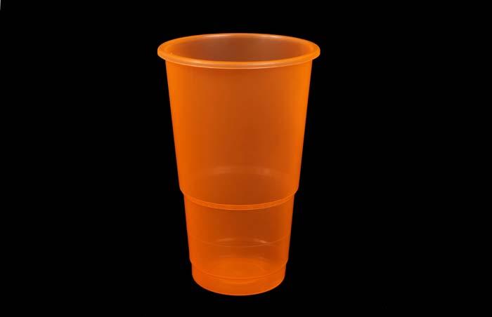 350ml Plastic Cup Orange