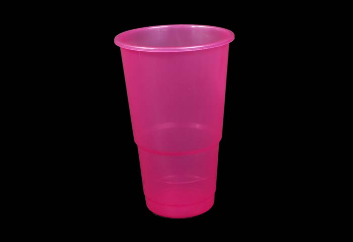 350ml Plastic Cup Pink